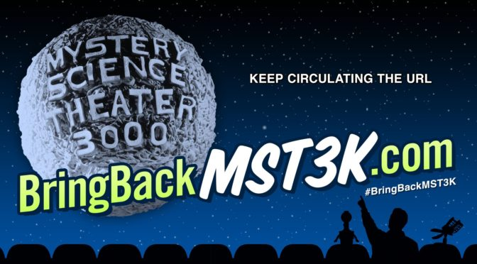 The New Season of Mystery Science Theater 3000 Will Be Here April 14th