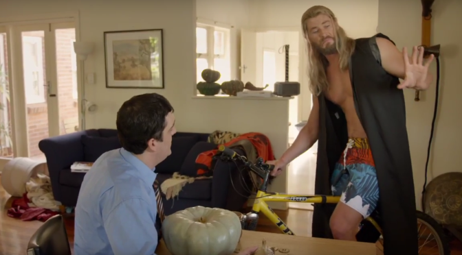 Marvel Releases a Clip From 'Team Thor: Part Two'