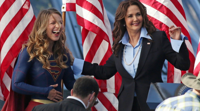 Lynda Carter Will Return to 'Supergirl' in a Kevin Smith Directed Episode