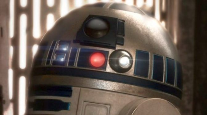 A New Performer Has Taken Over the Role of R2-D2