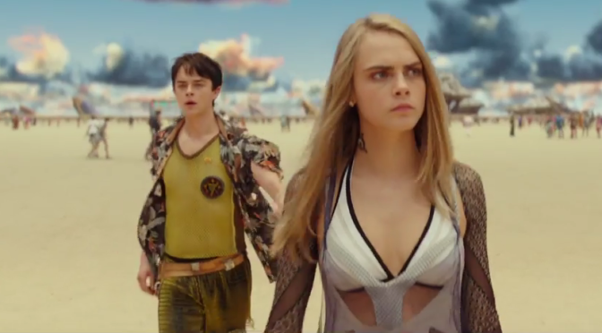 The New 'Valerian and the City of a Thousand Planets' Trailer is Here, and the Dude Just Won't Smile