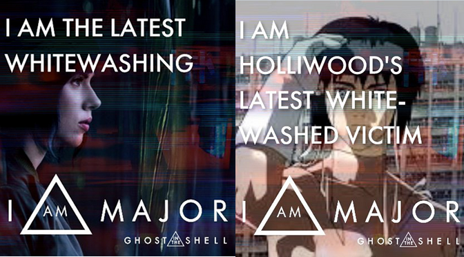 Paramount Opens 'I Am Major' Tool to Promote 'Ghost in the Shell' Remake, Backfires Spectacularly