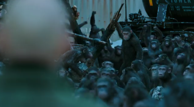 The Final 'War for the Planet of the Apes' Trailer Is Full of Monkeys With Guns