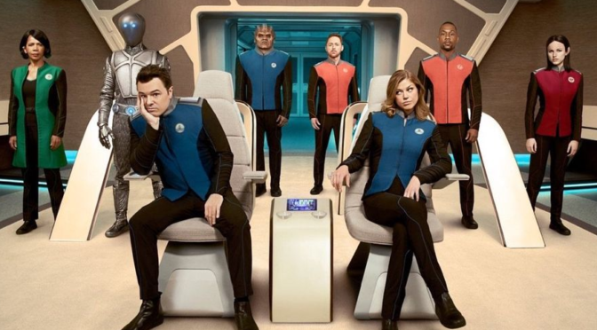 The Trailer for Fox's 'The Orville' Looks Great… Right Up Until Seth MacFarlane Opens His Mouth