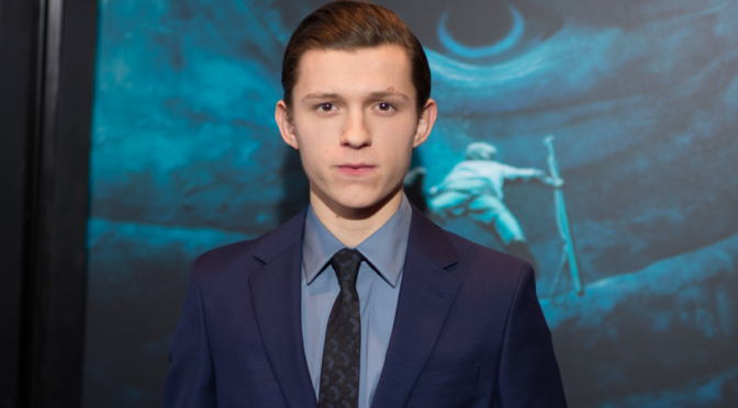 Tom Holland Cast as Lead in 'Uncharted' Movie