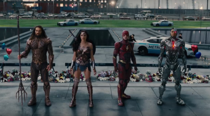 Thing From Comic Con We Forgot: A 'Justice League' Trailer