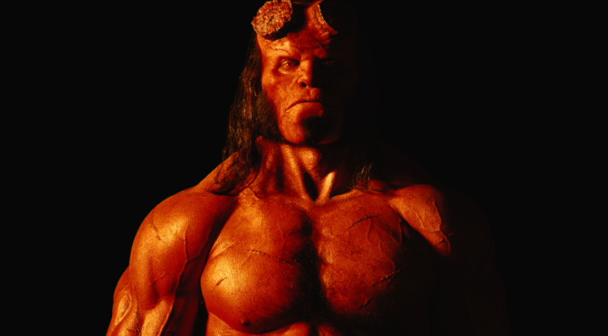 The First Look at David Harbour as Hellboy is Amazing