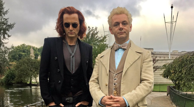 First Look at David Tennant and Michael Sheen in 'Good Omens,' More Cast Confirmed