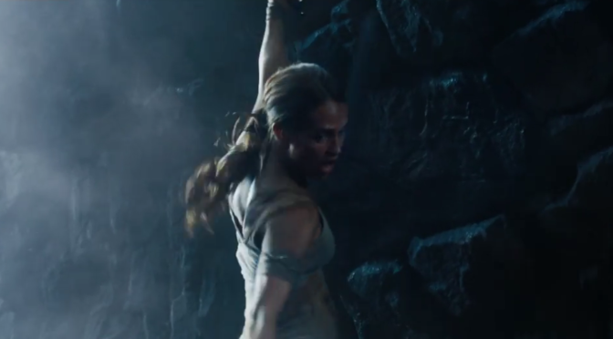 The First Trailer for 'Tomb Raider' Has Arrived