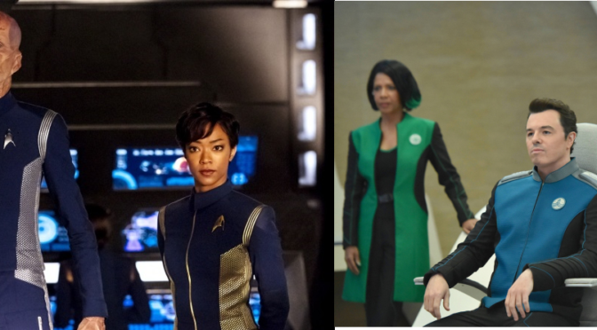 Trek Off: Comparing 'The Orville' to 'Star Trek: Discovery'