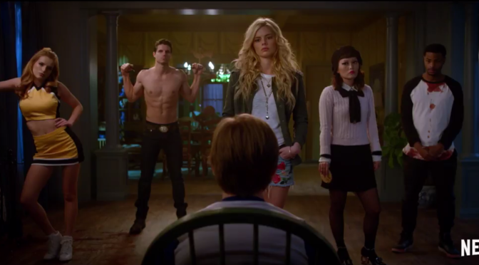 The Trailer For Netflix's 'The Babysitter' Presents Human Sacrifice With Hot People