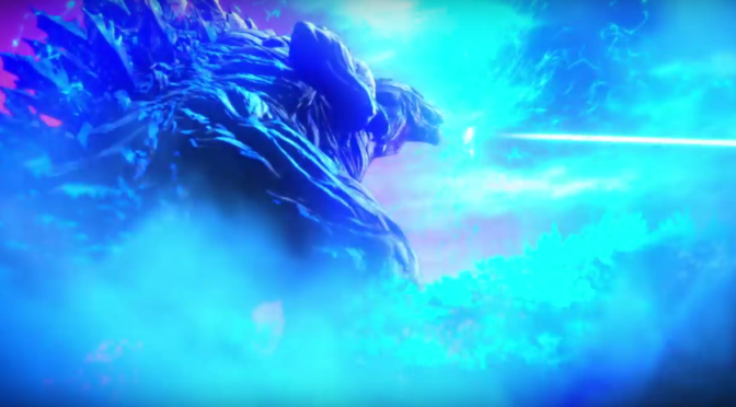 It's Godzilla Fights Spaceships in the new 'Godzilla: Monster Planet' Trailer
