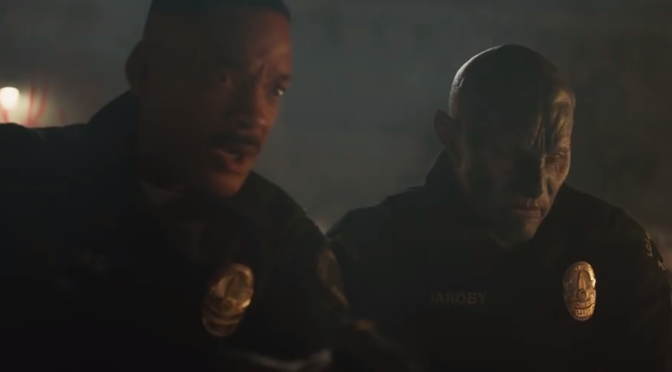 The New Trailer for Netflix's 'Bright' is Full of Elves, Orcs, and Explosions