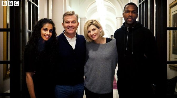 Three New Companions Announced for 'Doctor Who'