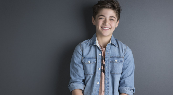 Asher Angel Cast as Billy Batson in 'Shazam!'