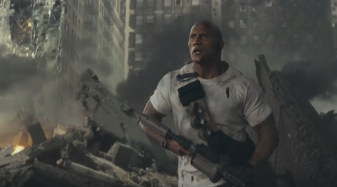 The First Trailer For 'Rampage' Sure Is a Thing That Exists
