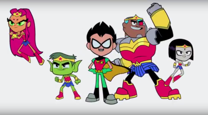 The 'Teen Titans GO! to the Movies' Trailer Sure Does Exist