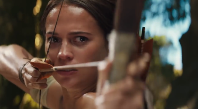 The New 'Tomb Raider' Trailer Is Very Tomb-Raider-y