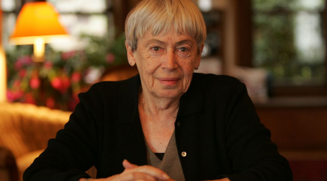 Acclaimed Author Ursula K. Le Guin Has Passed Away