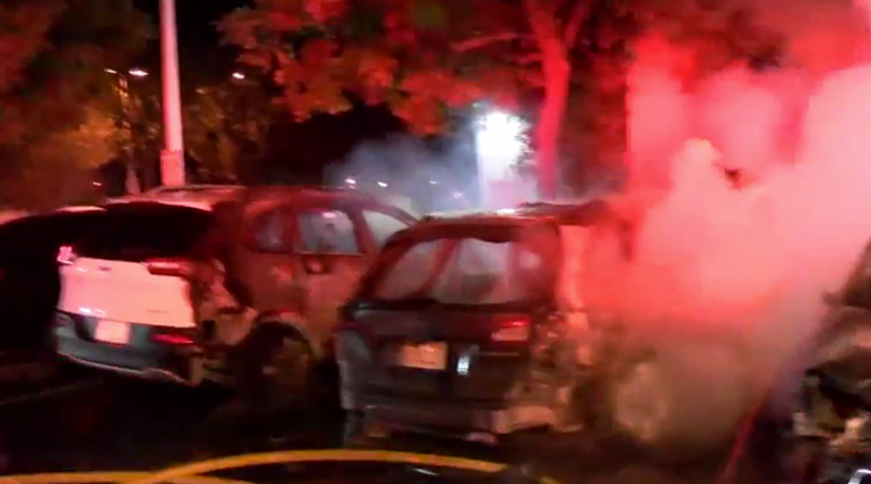 Seven Cars Destroyed In a Fire Lit By Alleged Stalker at Anime Los Angeles